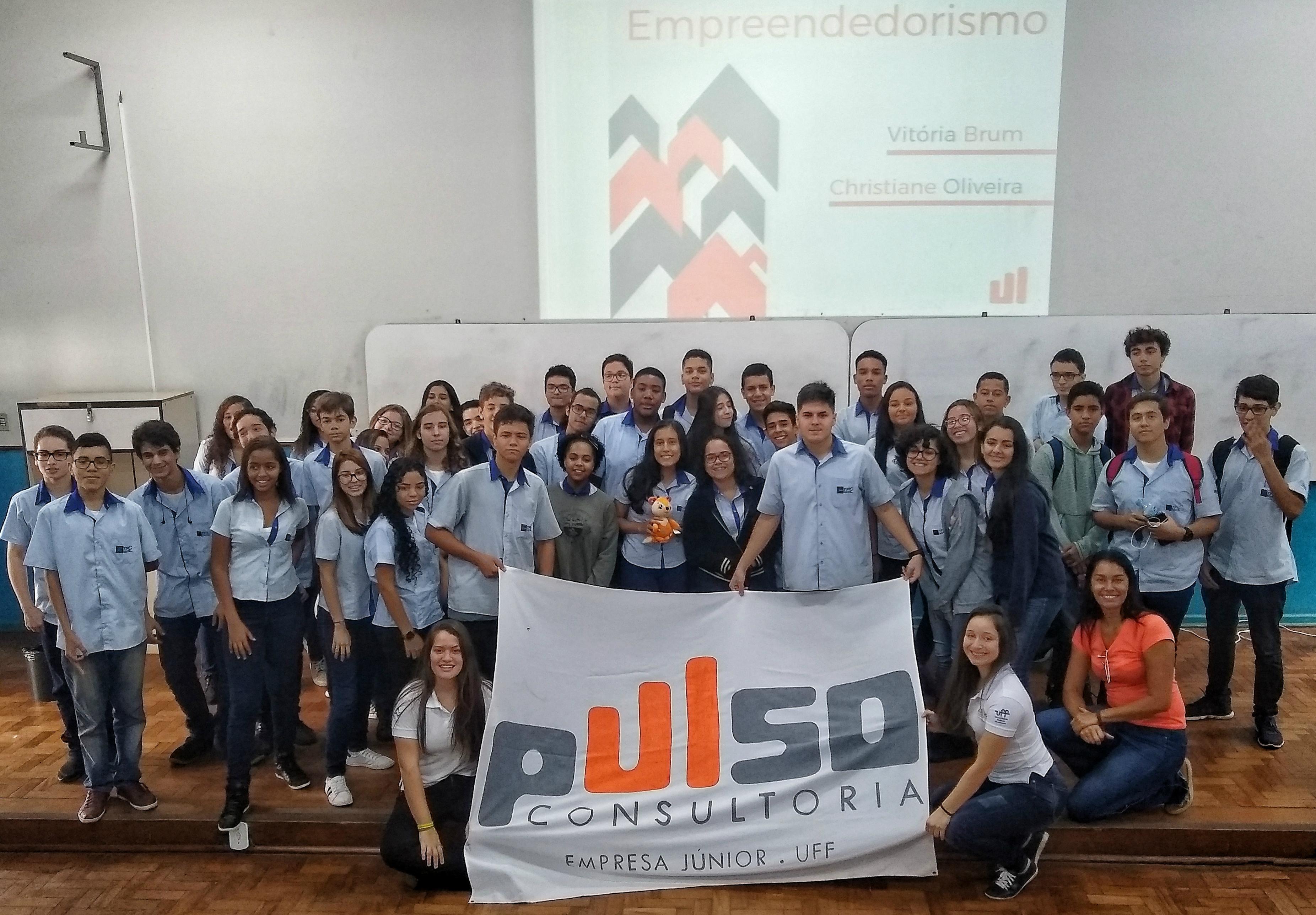 Palestra da Pulse sobre empreendedorismo