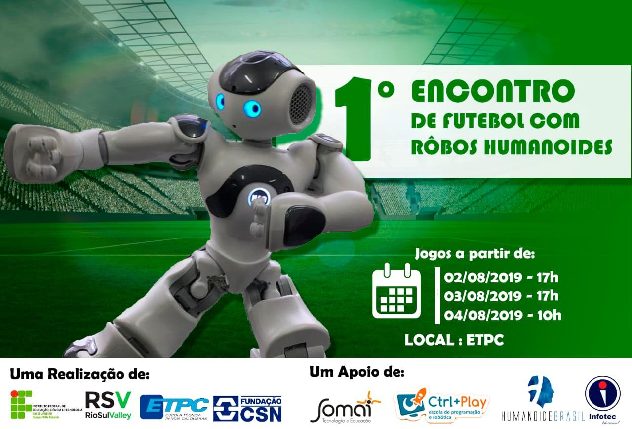 Futebol com robôs Humanoides