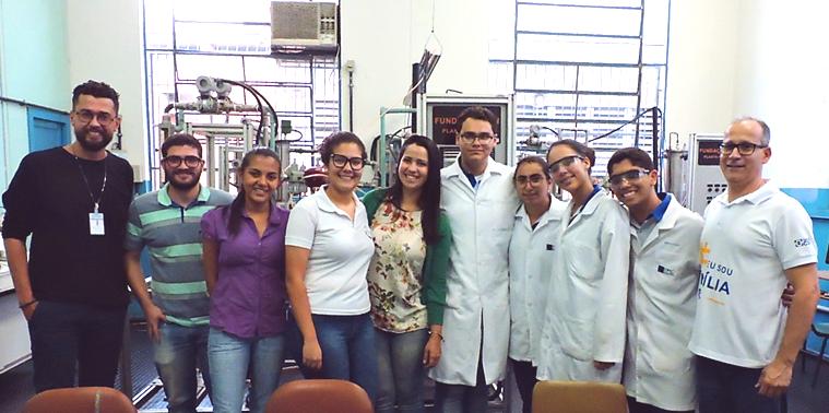 Visita do Grupo Trigo à ETPC