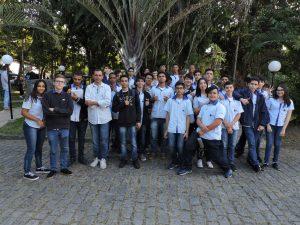 Alunos participam do Seminário Sul Fluminense de Governança em TI