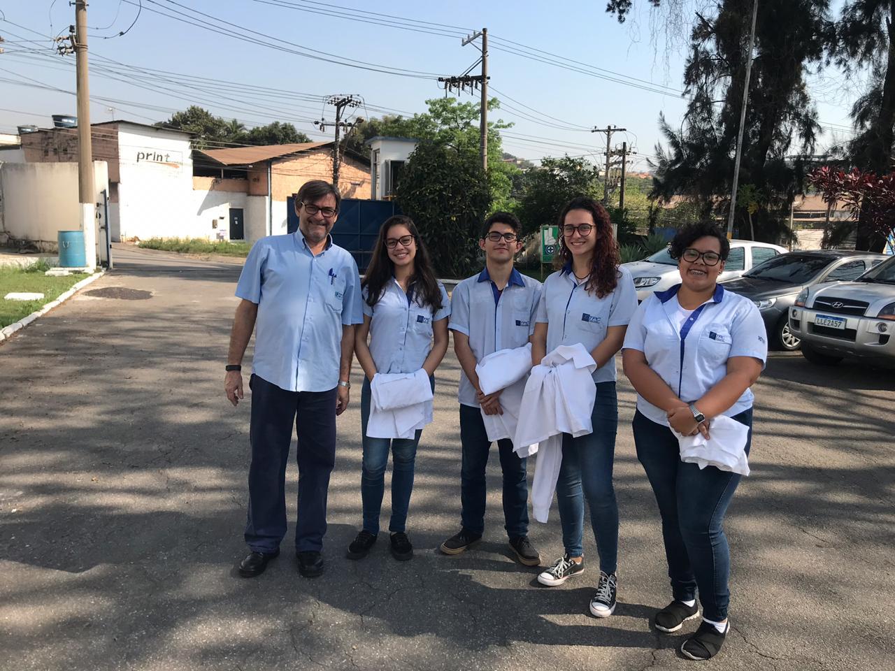 Visita de alunos da ETPC à SAAE-VR